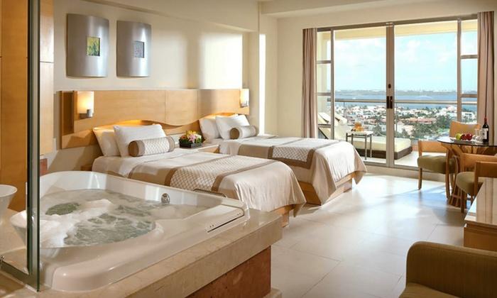 Beach Palace Cancun All Inclusive Trip With Airfare