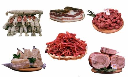Fino a 6 kg di salumi della Norcineria disponibili in 5 kit