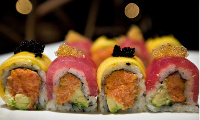 Kinha Sushi - Garden City: $20 for $40 Worth of Sushi and Japanese Cuisine at Kinha Sushi