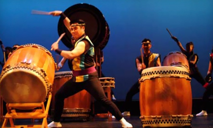 Alaska Junior Theater Presents San Jose Taiko - Downtown: Alaska Junior Theater Presents San Jose Taiko for Two at Atwood Concert Hall on Friday, March 22 (Up to $67.50 Value)