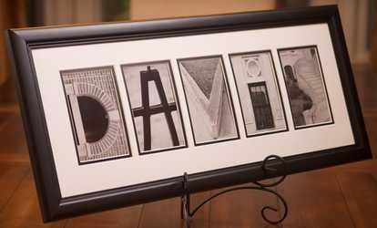 Charming Shop Groupon Personalized Alphabet Photography From Sticks And Stones
