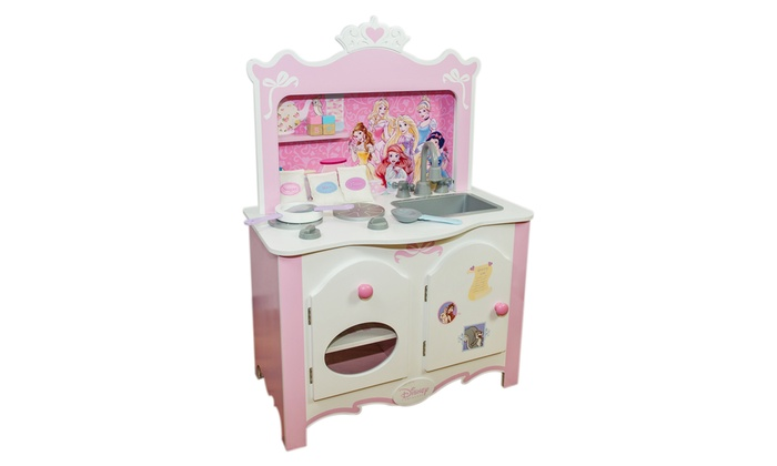 Disney Princess Wooden Play Kitchen