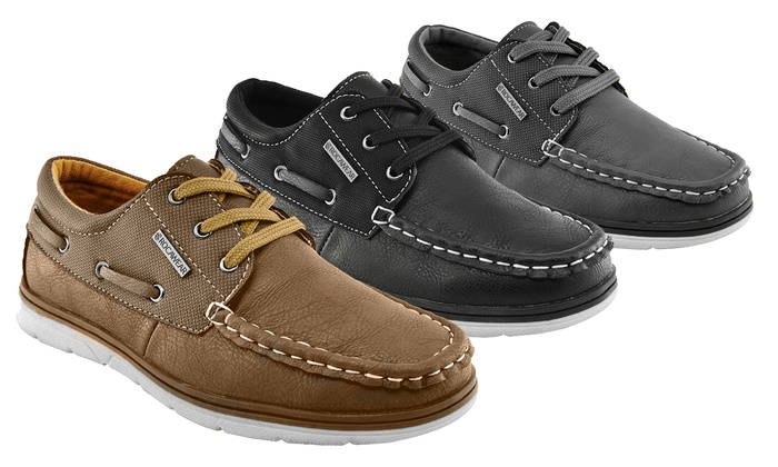 Rocawear Andy Boys' Boat Shoes | Groupon Goods