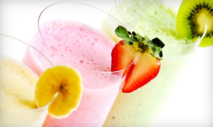 Nutrition Now - Nutrition Now: $15 for Five 16-Ounce Smoothies at Nutrition Now in Greensboro ($30 Value)