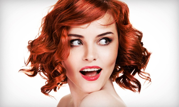 The Hair Boutique - Central Oklahoma City: Haircut, Style, and Deep Conditioning with Option for Partial or Full Highlights at The Hair Boutique (Up to 56% Off)
