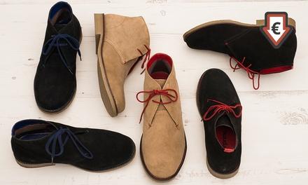 Desert Boots pour homme en daim, coloris aux choix à 29,90€ (jusqu'à 84% de réduction)