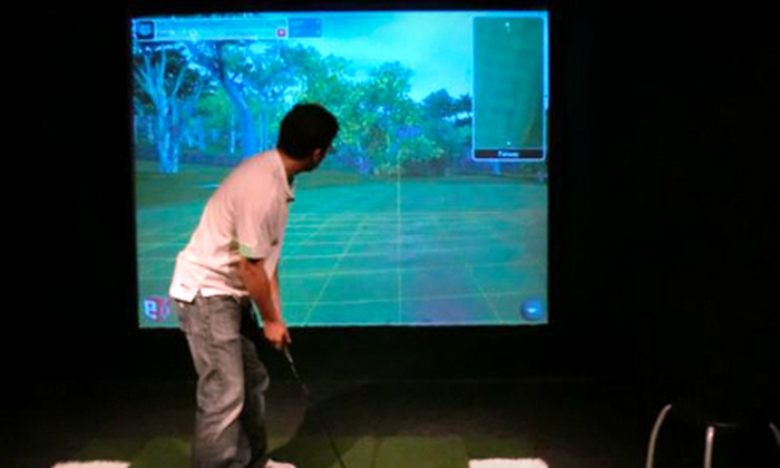 Players Club Golf - Pico: One-Hour Golf-Simulation Session ($25 Value)