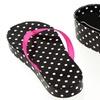 Summer Fling Flip-Flop Necklace with Polka-Dot Gift Box