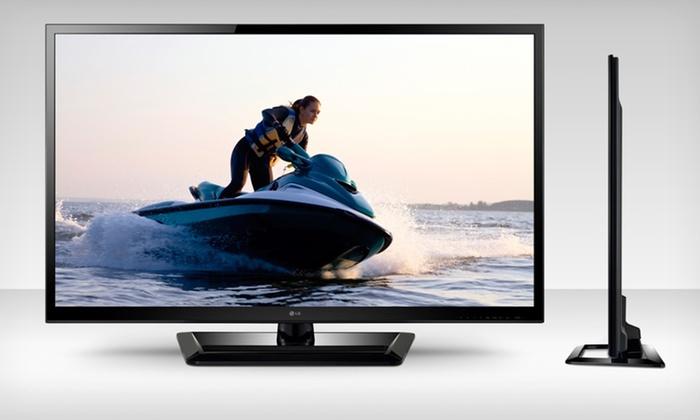 "LG 47"" 1080p 3D LED TVs: LG 47"" 1080p 3D LED TVs (Manufacturer Refurbished) (Up to 58% Off). Multiple Models Available. Free Shipping."