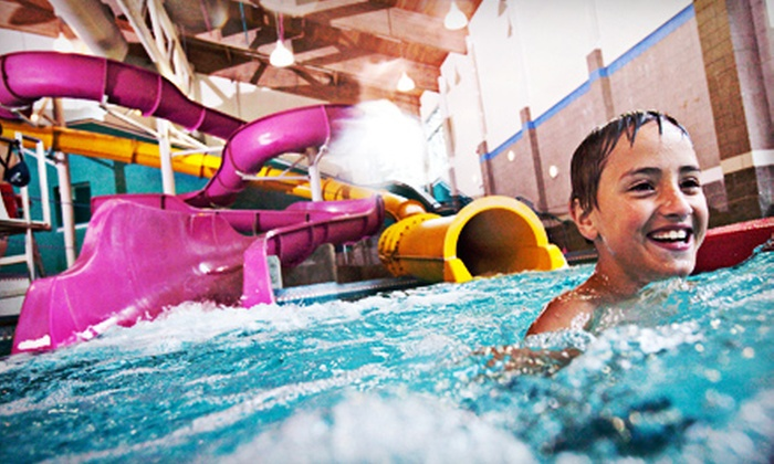North Clackamas Aquatic Park - Milwaukie: Indoor Water Park Visit for Four Residents or Non-residents at North Clackamas Aquatic Park (Up to a 50% Off)
