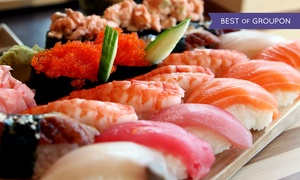 Sushi And Contemporary Asian Fusion Food At Pure Restaurant & Lounge (half Off). Two Options Available.