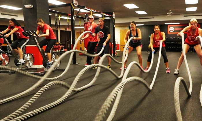 South Tampa Fit - South Tampa: 5 or 10 Group-Training Classes, or One Month of Group-Training Classes at South Tampa Fit (Up to 68% Off)
