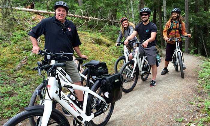 WhistlerElectricBikeTours - Whistler: Three-Hour Guided Electric Bike Tour for Two or Four from WhistlerElectricBikeTours (Up to 46% Off)