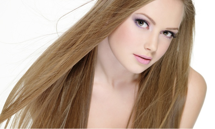 Salon Misty Hair Designer - Johns Creek: Haircut Package with Options for Highlights or Coloring at Salon Misty Hair Designer (Up to 57% Off)