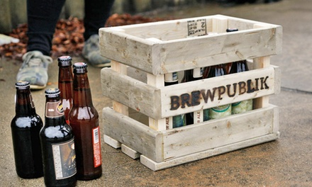 $36 for a One-Month Customized Craft-Beer Delivery Membership from BrewPublik ($60 Value)