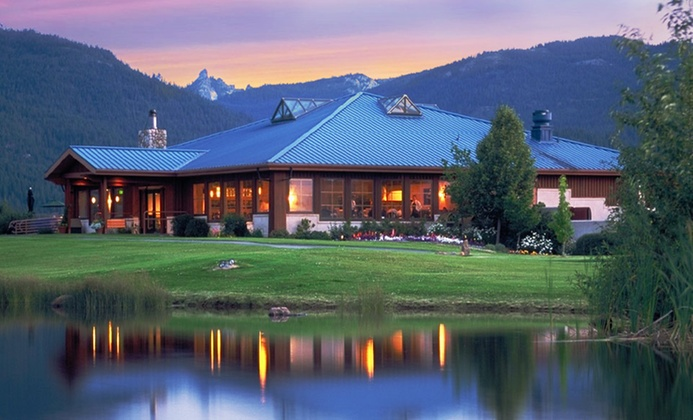 California Golf Resort with Grand Mountain Views