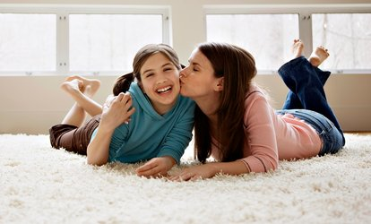 image for Carpet or Upholstery Cleaning from Guarantee Carpet Cleaning and Dye Company(Up to 67% Off). 3 Options Available.