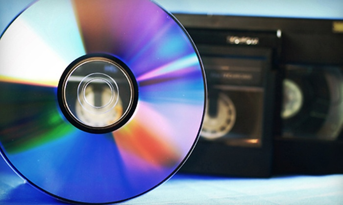 Take 2 Productions - Edmond: 6, 9, or 12 Video-to-DVD Transfers at Take 2 Productions (Up to 56% Off)