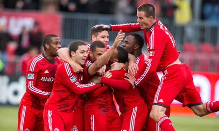 Toronto FC - BMO Field: Toronto FC Major League Soccer Match at BMO Field (Up to 42% Off). Three Games and Three Seating Options Available.