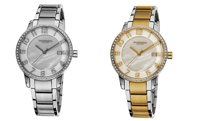Akribos XXIV Men's & Women's Watches: Akribos XXIV Men's and Women's Analog Watches. Multiple Styles from $49.99—$69.99. Free Shipping.