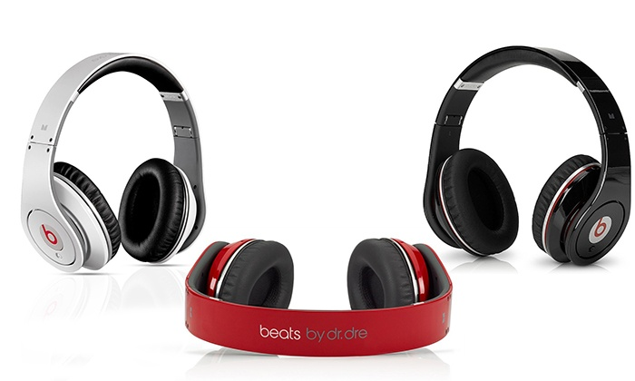 beats by dr dre reconditionn groupon. Black Bedroom Furniture Sets. Home Design Ideas