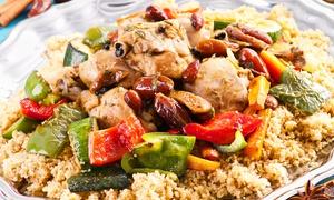 La Rose Des Sables: Saveurs marocaines à deux pas du port de Fréjus pour 2 personnes dès 24,90 € au restaurant La Rose des Sables