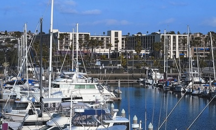 groupon daily deal - Stay at Crowne Plaza Redondo Beach and Marina Hotel in California. Dates into May.