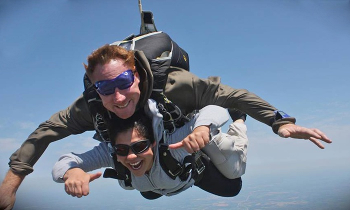 Skydive Philadelphia - Perkasie: One or Two Groupons, Each Good for One Tandem Skydiving Jump from Skydive Philadelphia (Up to 44% Off)