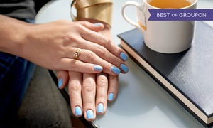 AQUA Spa and Wellness Center: Full Set of Acrylic or Gel Nail Mani or Mani with Gelish Polish at AQUA Spa & Wellness Center (Up to 52% Off)