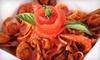 Up to 57% Off at Cicciotti's Trattoria Italiana & Seafood