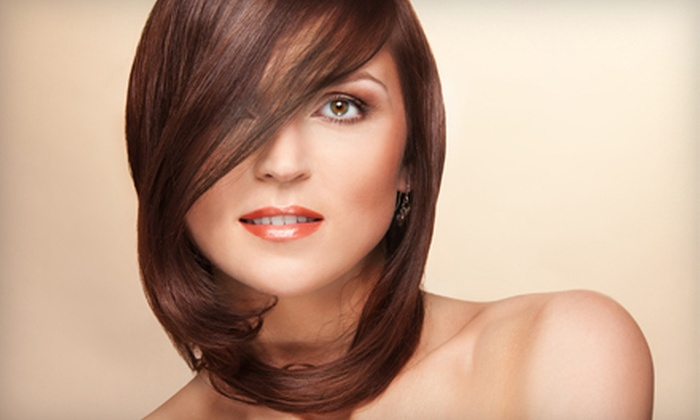 The Loft at Dawchers - Winter Park: Haircut, Gloss, and Blowout with Option for Partial Highlights at The Loft at Dawchers in Winter Park (Up to 78% Off)