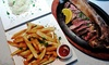 Up to 55% Off at Talia's Steakhouse and Bar