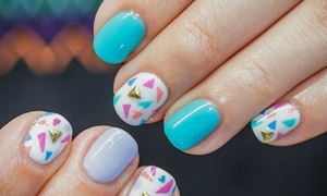 Lauren Lacquer: A Manicure with Nail Design from Lauren Lacquer  (33% Off)