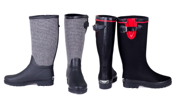 Elegant Forever Young  Tory Klein Women39s Rubber Rain Boots