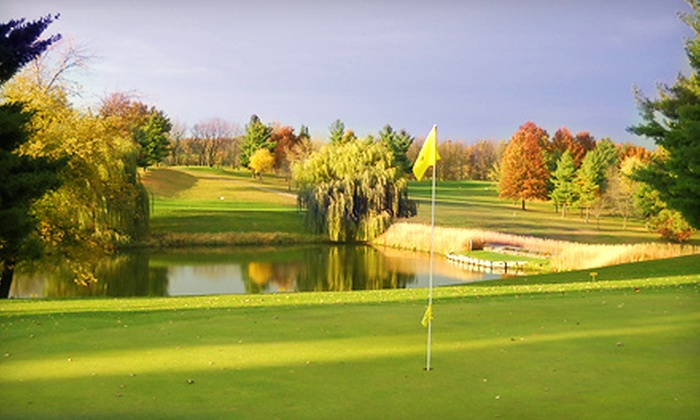 Kalona Golf Club - English River: Weekday or Weekend 18-Hole Round of Golf for Two with Cart Rental at Kalona Golf Club (Half Off)