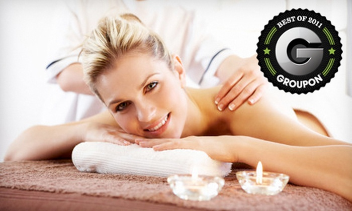 Damara Day Spa - Regina: $89 for a Massage Package for Full Body, Feet, and Scalp with Steam-Room Session at Damara Day Spa ($180 Value)