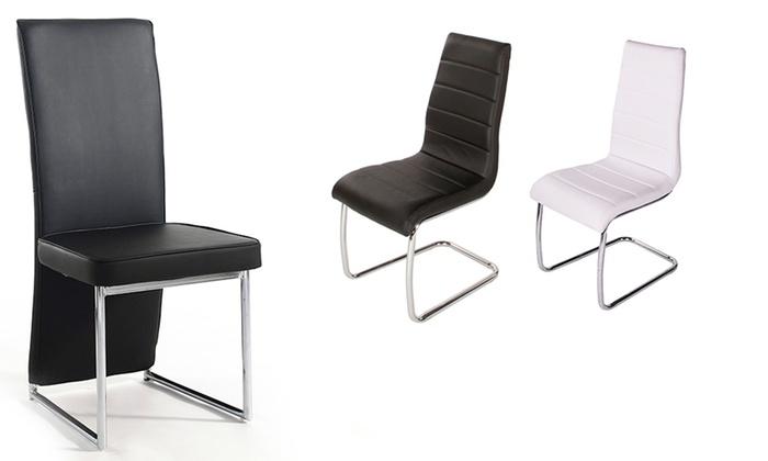 Klassieke Design Stoelen.Klassieke Eetkamerstoelen Groupon Goods