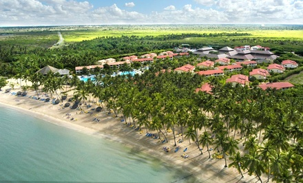 ✈ All-Inclusive Grand Bahia Principe Stay w/ Airfare. Includes Taxes and Fees. Price Per Person Based on Double Occupancy.