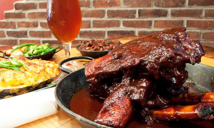 The SmoQue Shack - Byward Market: Barbecue for Two or Four at The SmoQue Shack (Up to 42% Off)