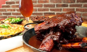 The SmoQue Shack: Barbecue for Two or Four at The SmoQue Shack (Up to 35% Off)