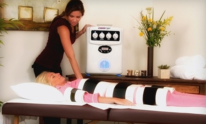 Desert Sun Tanning Salons - Multiple Locations: Body Wraps and Red-Light Therapy at Desert Sun Tanning Salons in Federal Way (Up to 64% Off). Two Options Available.