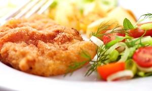 Pub i Restauracja Krypta : Domowe obiady: 2 zestawy za 21,99 zł i więcej opcji w restauracji Krypta (-39%)