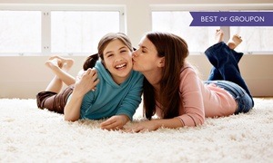 Alpha Omega Carpet Care: Carpet Cleaning for Three Rooms and One Hallway or the Entire House at Alpha Omega Carpet Care (Up to 70% Off)