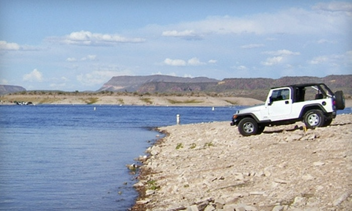 AZ Jeep Tours - Goodyear: $175 for Four-Hour Jeep Tour for Up to Four from AZ Jeep Tours (Up to $480 Value)
