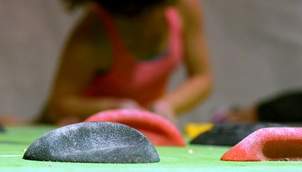 One Month of Rock Climbing and Yoga with Optional Gear or a One-Day Pass for Two at Climb UP (Up to 67% Off)