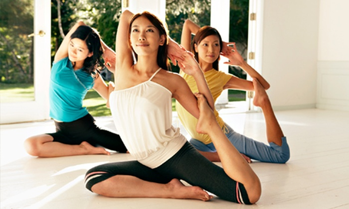 Dahn Yoga - Multiple Locations: Five- or Ten-Class Pass to Dahn Yoga (Up to 79% Off)