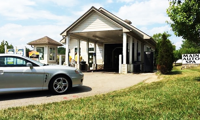 Main Auto Spa  - Main - Patrick Henry: $11 for One Ultimate Exterior Car Wash at Main Auto Spa ($17 Value)