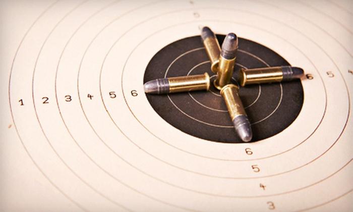 Alabama Training Institute & Pistol Range - East Birmingham: Gun Range Package or Membership at Alabama Training Institute & Pistol Range (Up to 51% Off). Five Options Available.