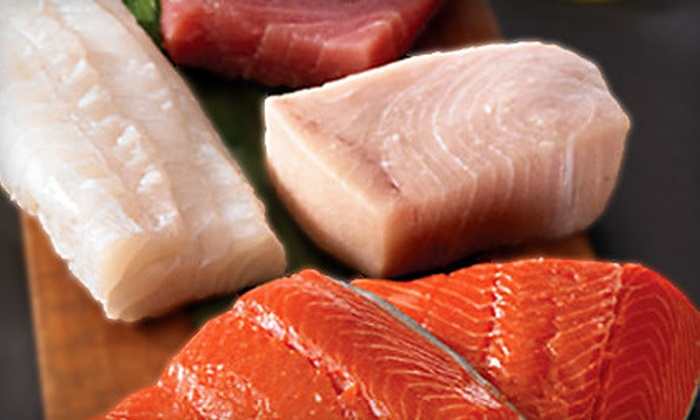 Today's Seafood Catch: $20 for $40 Worth of Fresh-Seafood Delivery from Today's Seafood Catch
