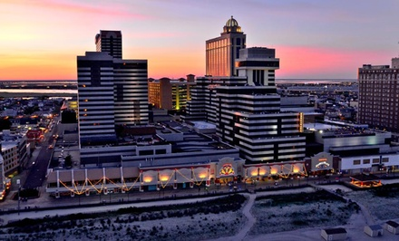 1 Night for 2 in a Standard Room w/ Food & Bev. Credit at Tropicana Casino & Resort in Atlantic City; Check In Sun-Thu